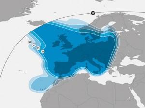 astra 2a southern europe ku band beam
